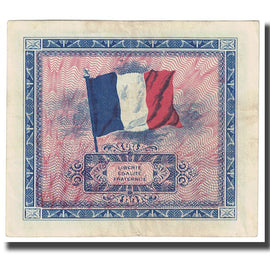 France, 5 Francs, Drapeau/France, 1944, SUP, KM:115b