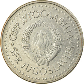 Monnaie, Yougoslavie, 50 Dinara, 1986, SUP, Copper-Nickel-Zinc, KM:113