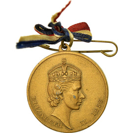 United Kingdom , Coronation of her Majesty Elisabeth II, Médaille, 1953
