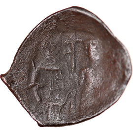 Monnaie, Latin Rulers of Constantinople, Aspron trachy, 1204-1261, B+, Billon