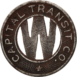 États-Unis, Washington D.C., Capital Transit Co., Jeton