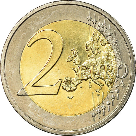 Luxembourg, 2 Euro, European Monetary Union - 10th Anniversary, 2009, SUP