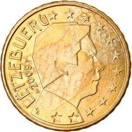 Luxembourg, 10 Euro Cent, 2009, SUP, Laiton, KM:89