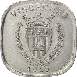 Vincennes, Union Commerciale et Industrielle, 20 Centimes 1917, Elie 10.1