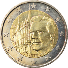 Luxembourg, 2 Euro, Palais Grand-Ducal, 2007, Paris, SPL, Bi-Metallic, KM:95