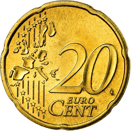 Luxembourg, 20 Euro Cent, 2003, SUP, Laiton, KM:79