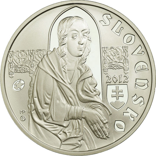 Slovaquie, 10 Euro, 2012, Proof, FDC, Argent, KM:122