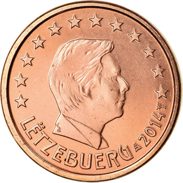 Luxembourg, Euro Cent, 2014, SPL, Copper Plated Steel