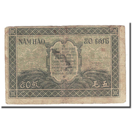 Billet, FRENCH INDO-CHINA, 50 Cents, KM:91a, TB