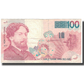 Billet, Belgique, 100 Francs, Undated (1995-2001), KM:147, TTB