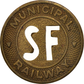 États-Unis, San Francisco Municipal Railway, Token