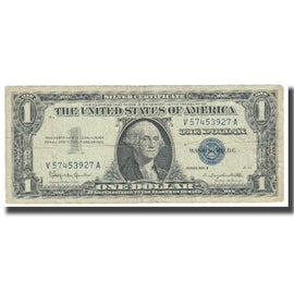 Billet, États-Unis, One Dollar, 1957, Undated (1957), KM:1464, TB+