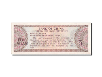 Chine, Bank of China, 5 Yuan type 1979, Pick FX4