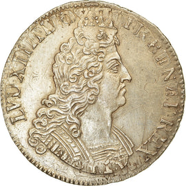 Monnaie, France, Louis XIV, Écu aux 8 L 2e type, Ecu, 1705, Paris, TTB+