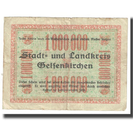 Billet, Allemagne, Breslau Evangelisch Kirchlicher, 1 Million Mark, Texte, 1923