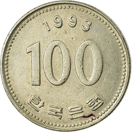 Monnaie, KOREA-SOUTH, 100 Won, 1993, TB+, Copper-nickel, KM:35.2