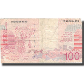 Billet, Belgique, 100 Francs, Undated (1995-2001), KM:147, TB
