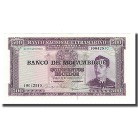 Billet, Mozambique, 500 Escudos, Undated (1976), KM:118a, NEUF