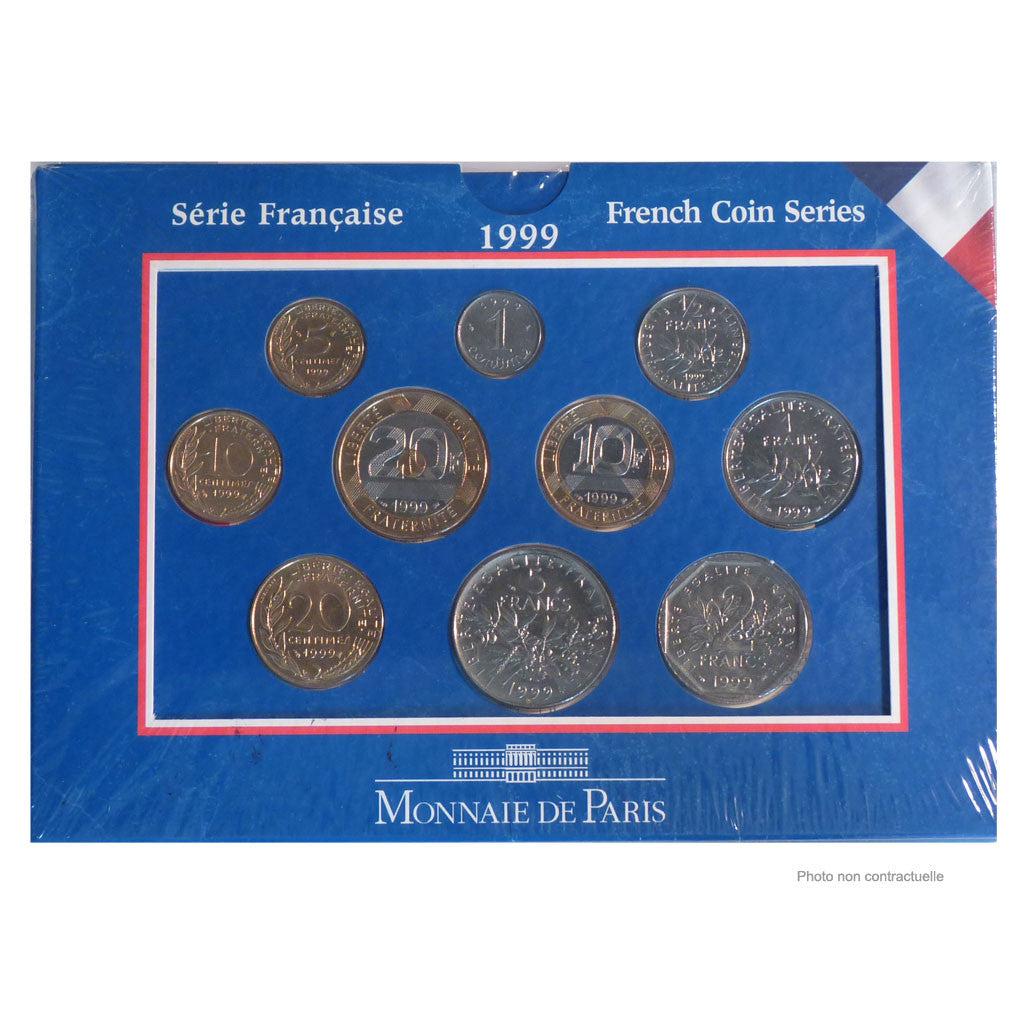 France, Set, 1999, FDC, Gadoury:page 289