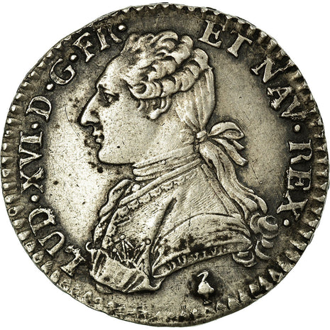 Monnaie, France, Louis XVI, 1/10 Écu, 12 Sols, 1/10 ECU, 1785, Paris, SUP