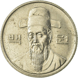 Monnaie, KOREA-SOUTH, 100 Won, 1992, TB+, Copper-nickel, KM:35.2