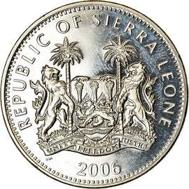 Monnaie, Sierra Leone, Dollar, 2006, British Royal Mint, Christophe Colomb, SPL