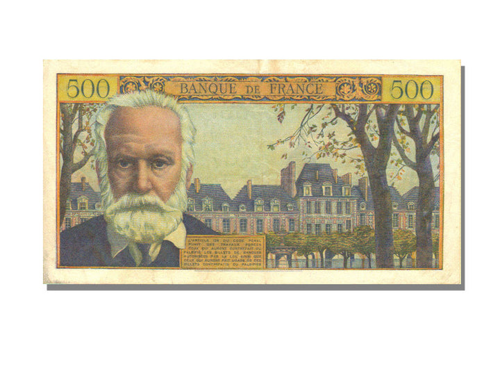 500 Francs Victor Hugo type 1953