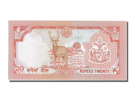 Nepal, 20 Rupees Type 1988