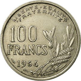 Monnaie, France, Cochet, 100 Francs, 1954, TTB, Copper-nickel, Gadoury:897