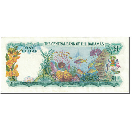 Billet, Bahamas, 1 Dollar, 1974, Undated (1974), KM:35a, SPL
