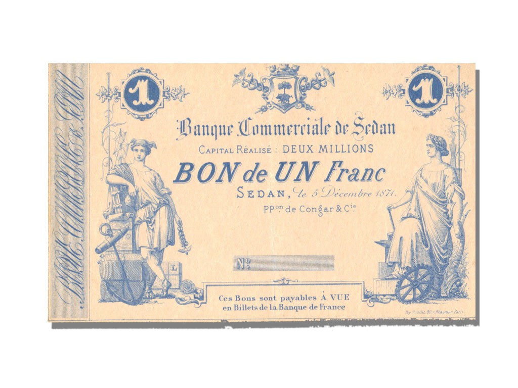 Banque Commerciale, 1 Franc, Sedan