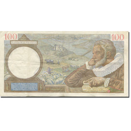 France, 100 Francs, Sully, 1941, 1941-03-13, TTB, Fayette:26.48, KM:94