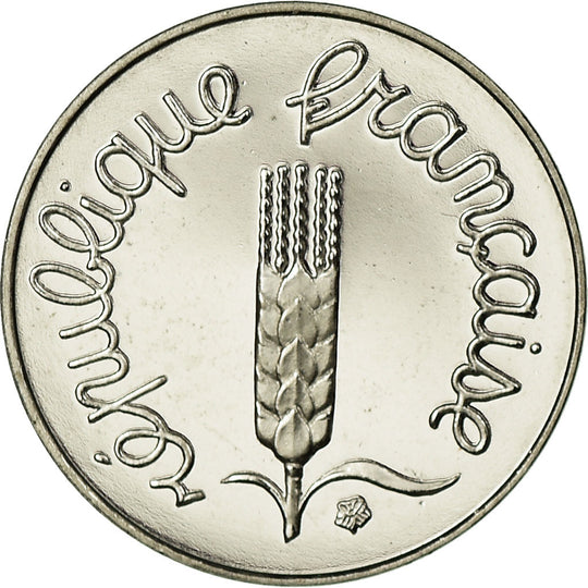 Monnaie, France, Épi, Centime, 1999, Paris, BE, FDC, Stainless Steel