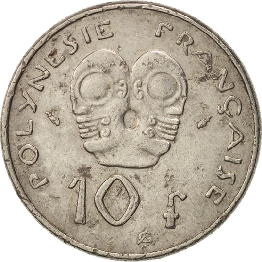 French Polynesia, 10 Francs, 1986, Paris, TTB, Nickel, KM:8
