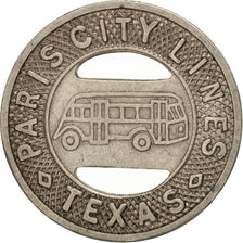 États-Unis, Texas, Paris City Lines, Token