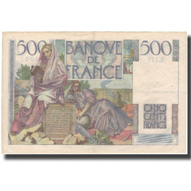 France, 500 Francs, Chateaubriand, 1952, 1952-09-04, TTB+, Fayette:34.10