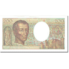 France, 200 Francs, Montesquieu, 1989, Undated (1989), SPL, Fayette:70.9