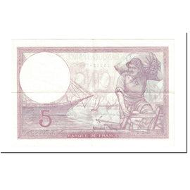 Billet, France, 5 Francs, 1939, 1939-08-17, SUP, Fayette:4.6, KM:83