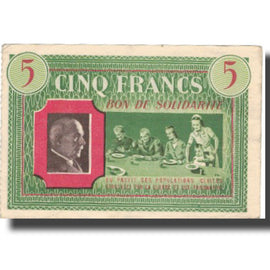France, Comité National, 5 Francs, TTB+