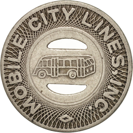 États-Unis, Mobile City Lines Incorporated, Token