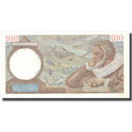 France, 100 Francs, Sully, 1942, 1942-01-29, NEUF, Fayette:26.65, KM:94