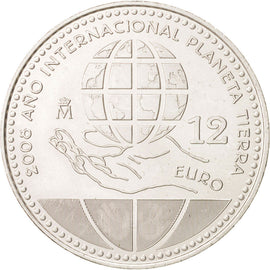 Spain, 12 Euro, 2008, Madrid, KM:1195, SPL, Silver