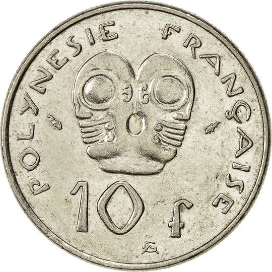 French Polynesia, 10 Francs, 1986, Paris, TTB+, Nickel, KM:8