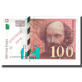 France, 100 Francs, 1997, D.Bruneel-J.Bonnardin-Y.Barroux, NEUF