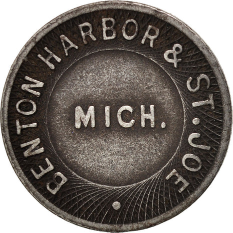 États-Unis, Benton Harbor & St. Joe, Token