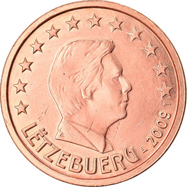 Luxembourg, 2 Euro Cent, 2009, TTB+, Copper Plated Steel, KM:76