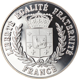 France, Médaille, White Snow, Proof, FDC, Argent