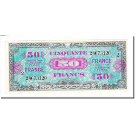 France, 50 Francs, 1945 Verso France, 1944, SUP+, Fayette:VF24.2, KM:122b