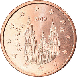 Espagne, 5 Euro Cent, 2019, SUP, Copper Plated Steel, KM:New
