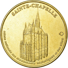France, Jeton, Jeton Touristique, Paris - Sainte Chapelle, 1998, MDP, TTB